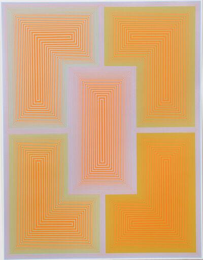Richard Anuszkiewicz, 'Inward Eye #1', 1970