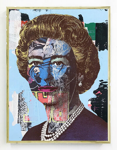 Greg Gossel, 'Queen (Blue)', 2017