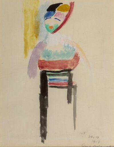 Sonia Delaunay, 'Danseuse', 1917