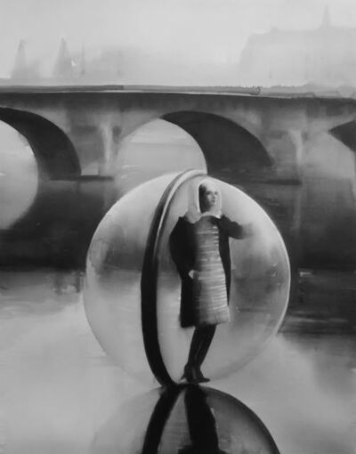 Radenko Milak, 'On the Seine in 1963, photographer Melvin Sokolsky shot the iconic Bubble fashion series in Paris for Harper's Bazaar magazine's spring collection. Alix of Modern', 2014