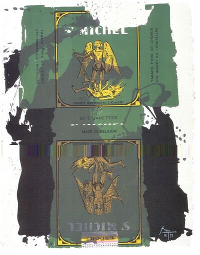 Robert Motherwell, 'St. Michael III', 1979