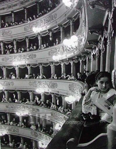 Alfred Eisenstaedt, 'Premiere at La Scala', 1933