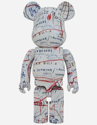 BE@RBRICK, 'JEAN-MICHEL BASQUIAT #2 1000%'
