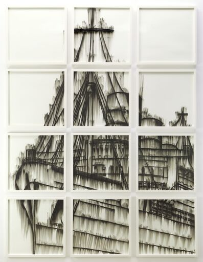 Gary Simmons, 'Lost at Sea II (White)', 2011