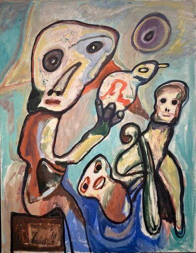 Lucebert, 'Moeder's wens', 1989