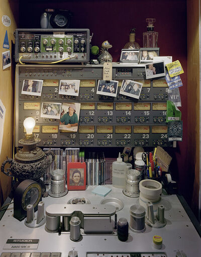 David Leventi, 'Tom Elmhirst's Shrine, Studio C, Electric Lady Studios, New York City', 2014