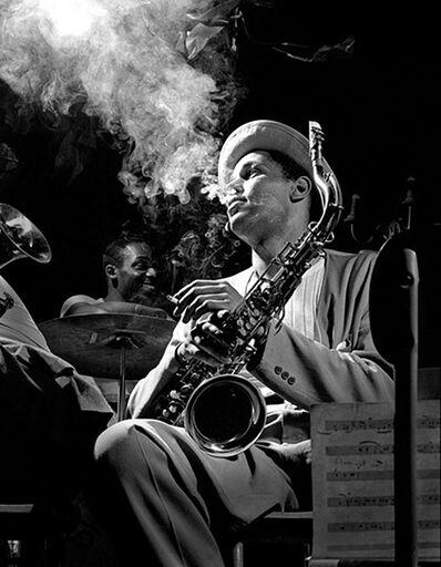 Herman Leonard, 'Dexter Gordon, Royal Roost, New York City', 1948