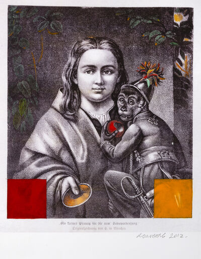 Osvaldo Romberg, 'Man & Monkey ', 2012
