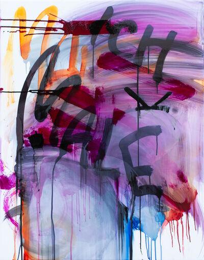 Thierry Furger, 'SCHRIFTENMALER 05', 2020