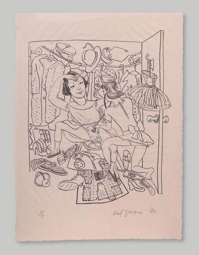 Red Grooms, 'Rosie's Closet', 1979