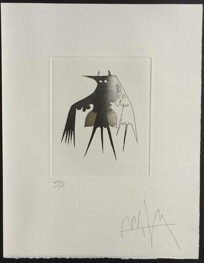Wifredo Lam, 'Croiseur Noir (6 Etchings)', 1972