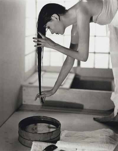 Louise Dahl-Wolfe, 'Japanese Bath', 1954