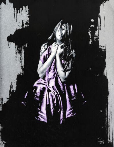 Snik, 'Souls Apart (Washed Black Pink)', 2014