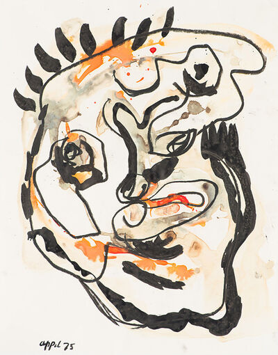 Karel Appel, 'Untitled (Abstract Face)', 1975