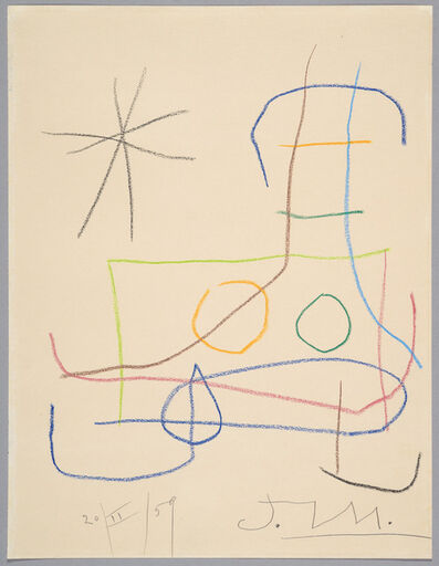 Joan Miró, 'Untitled', 1959