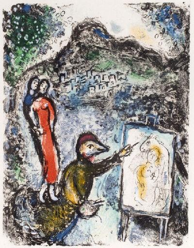 Marc Chagall, 'Near St. Jeannet, Provence.', 1972