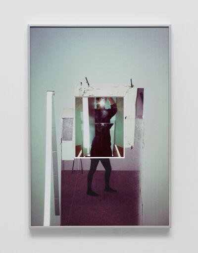 B. Ingrid Olson, 'Column and Rift, body draft', 2019