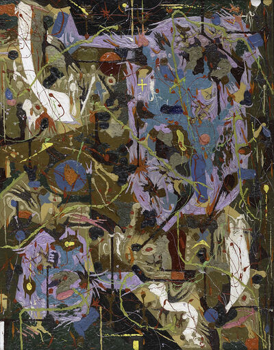 Alfonso Ossorio, 'Slow Dance and Staccato', 1955