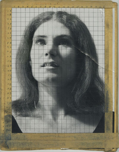 Chuck Close, 'Nancy', 1968