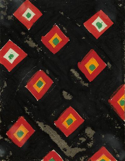 Sonia Delaunay, 'Two textile designs', 1925-33