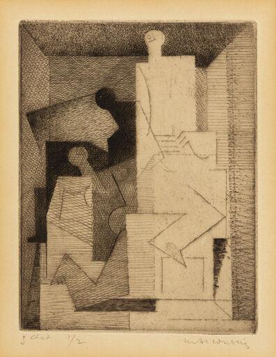 Louis Marcoussis, 'Les Trois Femmes', 1930