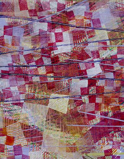 Alyse Rosner, 'Midair (Deep Red)', 2019