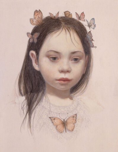 Lauren Mills, 'Butterfly Child', 2017
