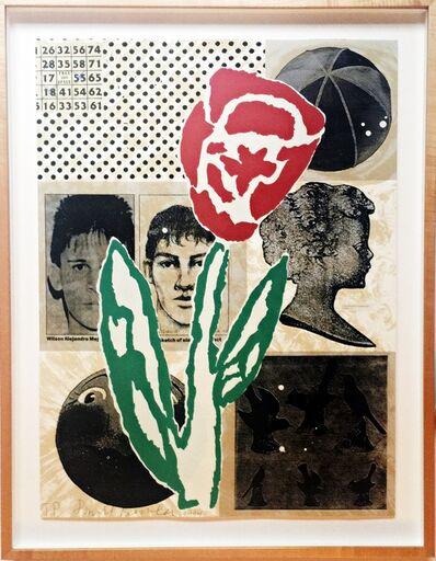 Donald Baechler, 'Flower (from Fuer die Pinakothek der Moderne portfolio)', 1994