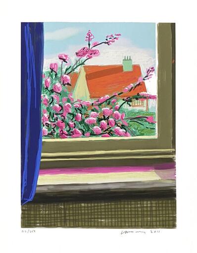 David Hockney, ' My window iPad drawing 'No. 778', 17th April 2011', 2010