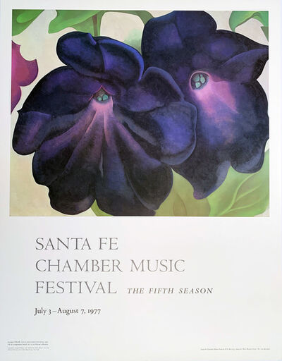 Georgia O'Keeffe, 'Santa Fe Chamber Music Festival, The Fifth Season', 1977