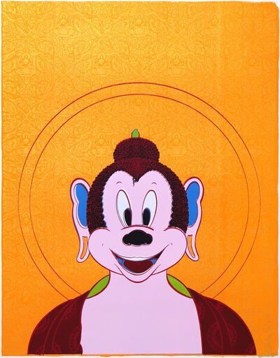 Tenzing Rigdol, 'When Mickey Got Enlightened!', 2018