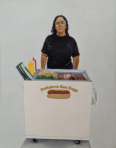 "Javier Carrillo, 'Alondra, ""La Sachichera""', 2020"