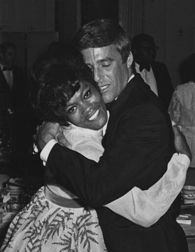 Ron Galella, 'Dionne Warwick and Burt Bacharach, Pierre Hotel, New York', 1968