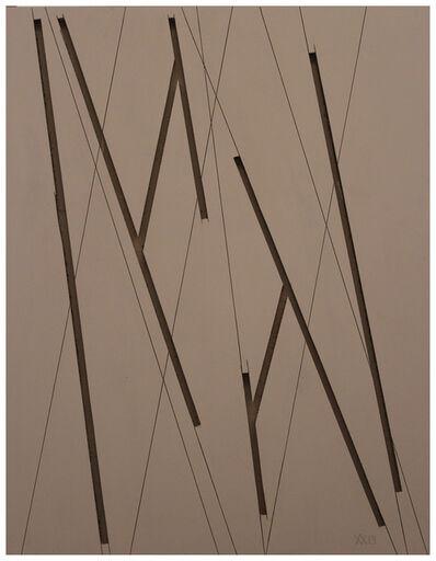 Manu Muniategiandikoetxea, 'ST. Solo, rosa oscuro, madera', 2019