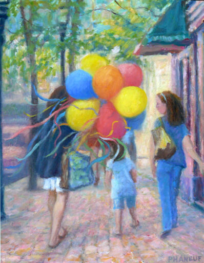 Melody Phaneuf, 'Balloons on the Charles', 2019