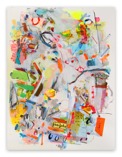 Gina Werfel, 'Stencil (Abstract Expressionism painting)', 2014
