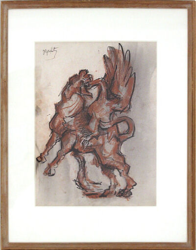 Jacques Lipchitz, 'Bull and Condor', 1963