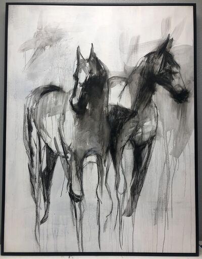Axiom Collective, 'Equine Couple', ca. 2018