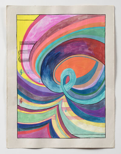 Sarah Cain, 'Whirlpool', 2020