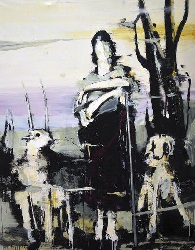 Lars Teichmann, 'Shepherd girl', 2018
