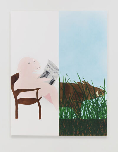 Calvin Marcus, 'City Pig/Wild Boar', 2019