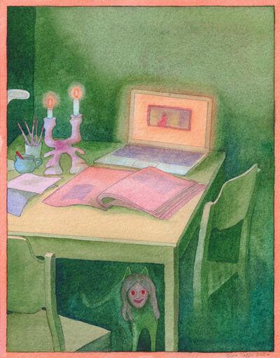 Oda Iselin Sønderland, 'Untitled (Cat under table)', 2020