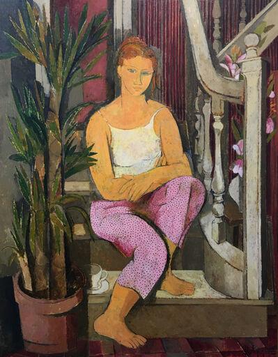 Alfredo Roldan, 'Mujer sentada en la escalera', 1999