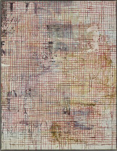 Mandy El-Sayegh, 'Net-Grid Study (bread and life)', 2019
