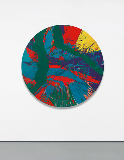 Damien Hirst, 'Beautiful Bloody Revolutionary Supersonic French Spin Painting for the Amazing Anne-Sophie', 2014