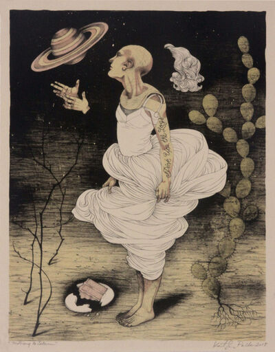 Kathryn Polk, 'Moving to Saturn', 2019