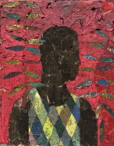 Derek Fordjour, 'No. 56', 2017