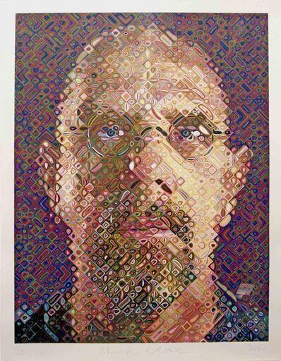 Chuck Close, 'Self Portrait', 2007