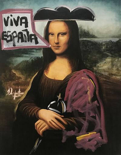 Domingo Zapata, 'Viva España', 2018