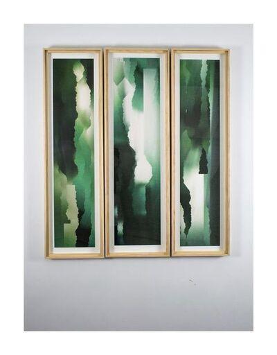 Simon Colley, 'Vista of Green #1, #2, #3 (Edition of 9)', 2019